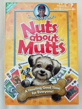 Nuts about Mutts Card Game Box