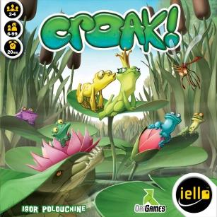 Croak! Board Game - Top 5 board game for teens!