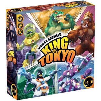 King of Tokyo Board Game - Top 5 game for teens!