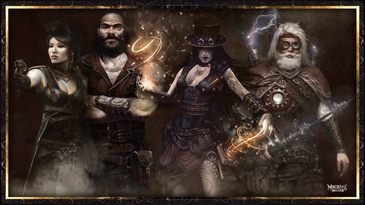 Machina Arcana Characters