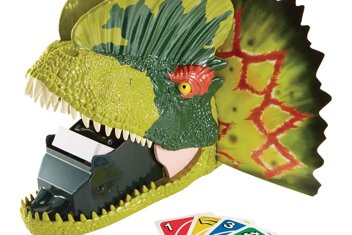 Jurassic Uno Attack
