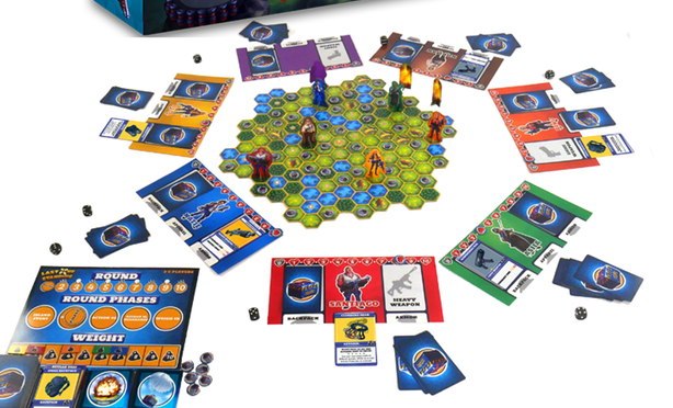 Last One Standing Game Board